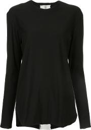 First Aid To The Injured Fascie Blouse Women Cotton 4, Black