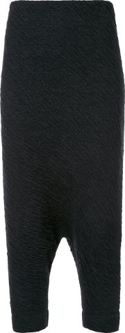 Forme D'expression 'trapez' Tapered Trousers Women Nylonwoolalpaca L, Black