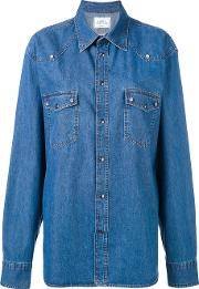 Kate Denim Shirt Women Cotton S, Blue