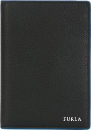 Billfold Wallet Men Leather One Size, Black