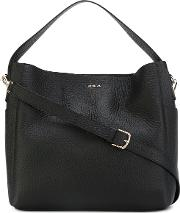 Capriccio Hobo Bag Women Leather One Size, Black