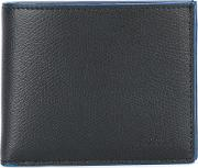 Fold Out Wallet Men Leather One Size, Black