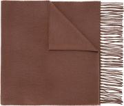 Gieves & Hawkes Classic Scarf Men Cashmeremerino One Size, Brown