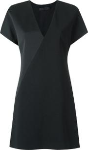 Panelled Blouse Women Polyester 36, Black