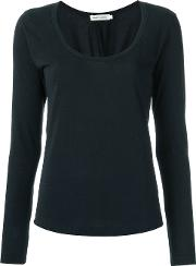 Round Neck Blouse Women Cottonpolyester P, Black