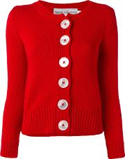 Digby Cardigan Women Cotton 10, Red