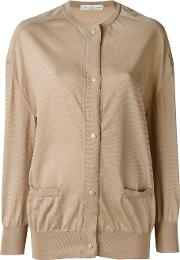 Oversized Cardigan Women Polyester S, Nudeneutrals
