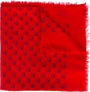 ghost Modal Shawl Men Silkmodal One Size, Red