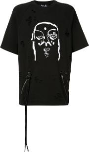 Printed T Shirt Men Cotton Xs, Black