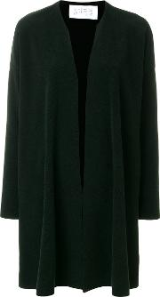 Harris Wharf London Open Front Cardigan Women Polyester 42, Green