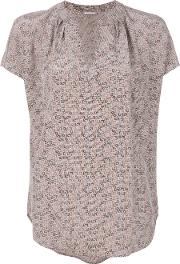 Amely H Print Blouse