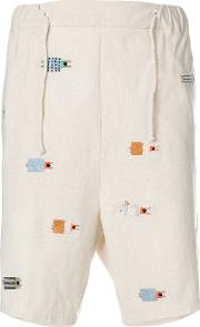 Embroidered Sleepers Shorts