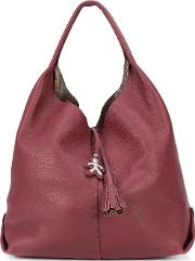 Canota Hobo Shoulder Bag Women Leather One Size, Red
