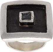 Floating Cube Square Ring