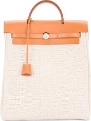 Hermes Vintage Sac A Dos 2 In 1 Backpack