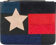Patchwork Flag Pouch