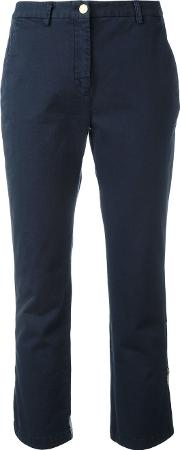 Cropped Pants Women Cottonspandexelastane 42