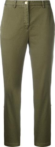 Cropped Pants Women Cottonspandexelastane 44