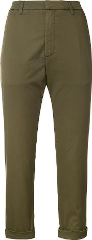 Cropped Chinos