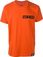 Lee Collaboration' T Shirt Men Cotton M, Yelloworange
