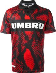 Umbro Football Top Unisex Polyester M, Red