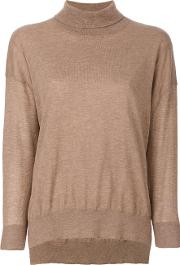 Humanoid Hana Jumper Women Cottonwool L, Brown