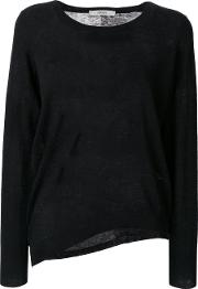 Humanoid Hilly Jumper Women Cottonwool S, Black
