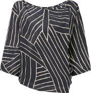 Satu Top Women Silk M, Women's, Black
