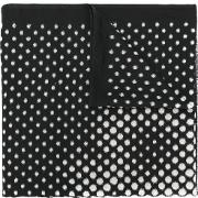 Hydrogen Spotty Scarf Men Silkcottonpolyamidewool One Size, Black