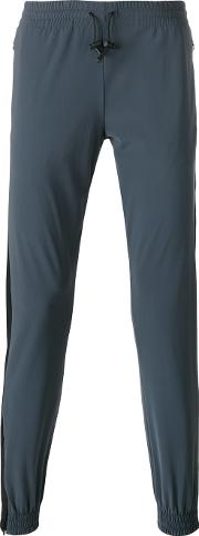 Jogger Style Track Pants Men Spandexelastanepolyimide L, Blue