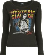Web Of Sin Print Blouse