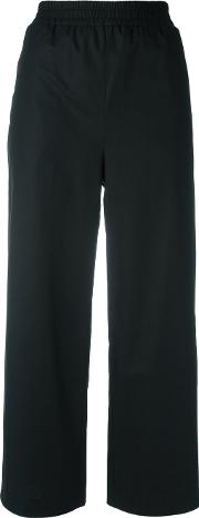 I'm Isola Marras Cropped Trousers Women Cotton 40, Black