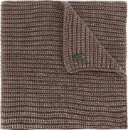 Iris Von Arnim Knitted Scarf Men Cashmere One Size, Brown