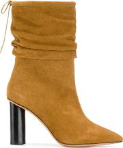 Iro Socky Ankle Boots Women Leather 38, Brown
