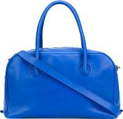 'bond' Tote Women Calf Leather One Size, Blue