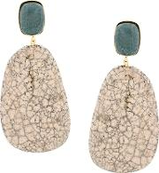 Isabel Marant Etoile Stone Drop Earrings