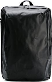 Square Backpack Men Cottoncalf Leathernylon One Size