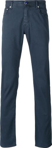 Classic Chinos Men Cottonspandexelastanelyocell 31, Blue