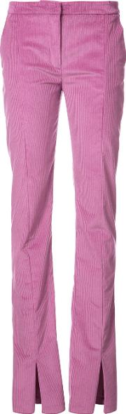 Jeffrey Dodd Long Skinny Trousers Women Cottonspandexelastanesilk 38, Nudeneutrals