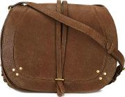 Nestor Crossbody Bag Women Cottonleather One Size, Brown