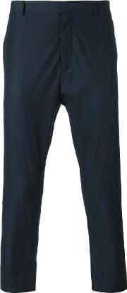 Chino Trousers Men Cotton 44, Blue