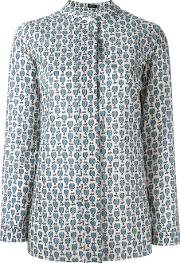 Printed Blouse Women Cotton 38, Nudeneutrals
