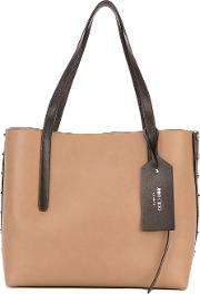 'twist East West' Tote Women Calf Leather One Size, Nudeneutrals