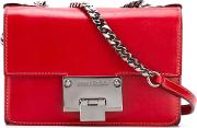 Rebel Soft Mini Bag Women Leather One Size, Women's, Red