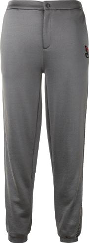 Straight Trousers Women Cottonpolyesterviscose Xs, Grey