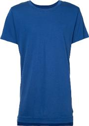 Mercer T Shirt Men Modalsupima Cotton M, Blue