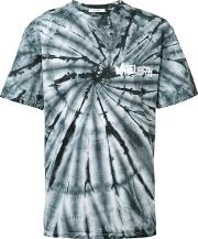 Tie Dye T Shirt Men Cotton M, Brown