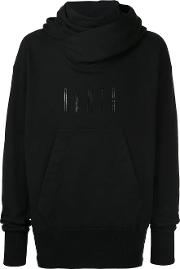 Embroidered Pouch Pocket Hoodie