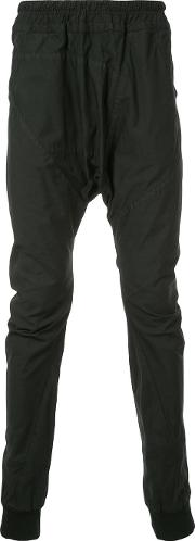 Relaxed Drop Crotch Trousers