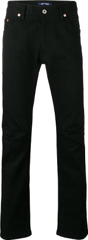 Classic Low Rise Jeans Men Cottonpolyurethane S, Black